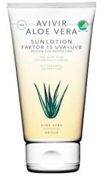 Avivir Aloe Vera Sun Lotion SPF 30 150 ml.